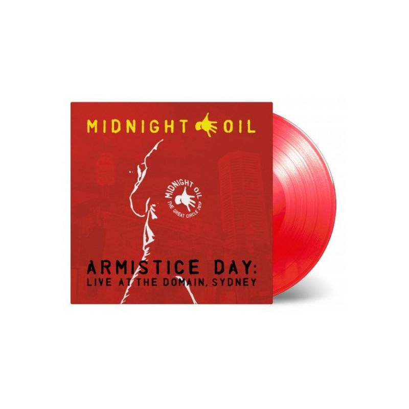 Armistice Day: Live At The Domain, Sydney (3LP Red Vinyl)