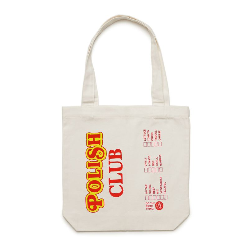 Tote Bag Menu