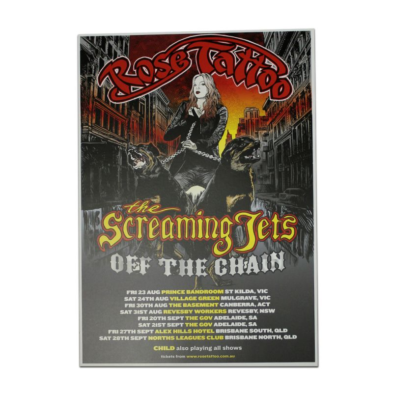 Off The Chain Tour Poster (Jets/Tatts)