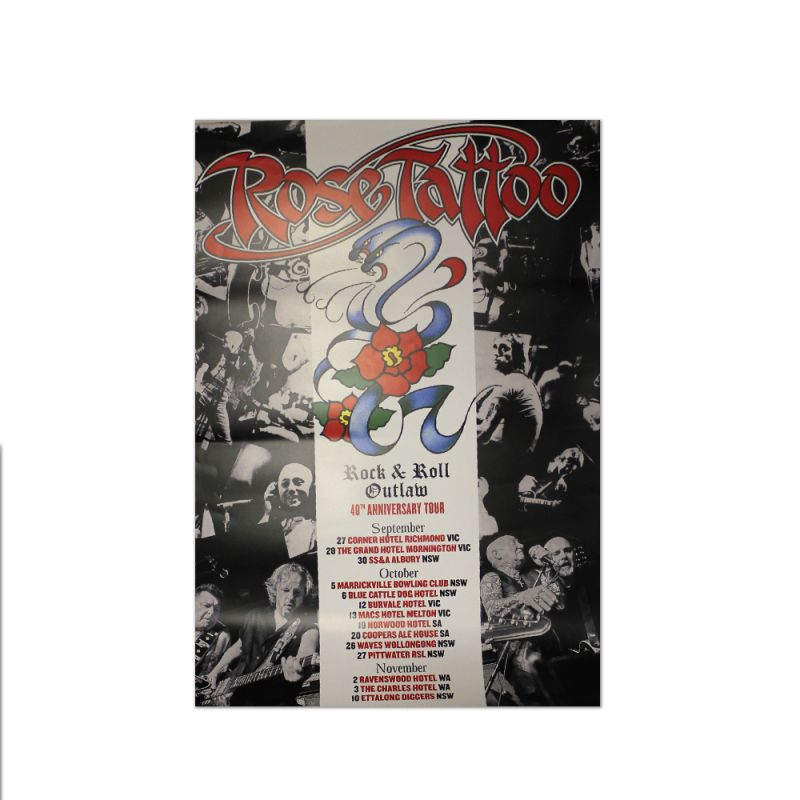 Rock N Roll Outlaw 40th Anniversary Poster (Limited)