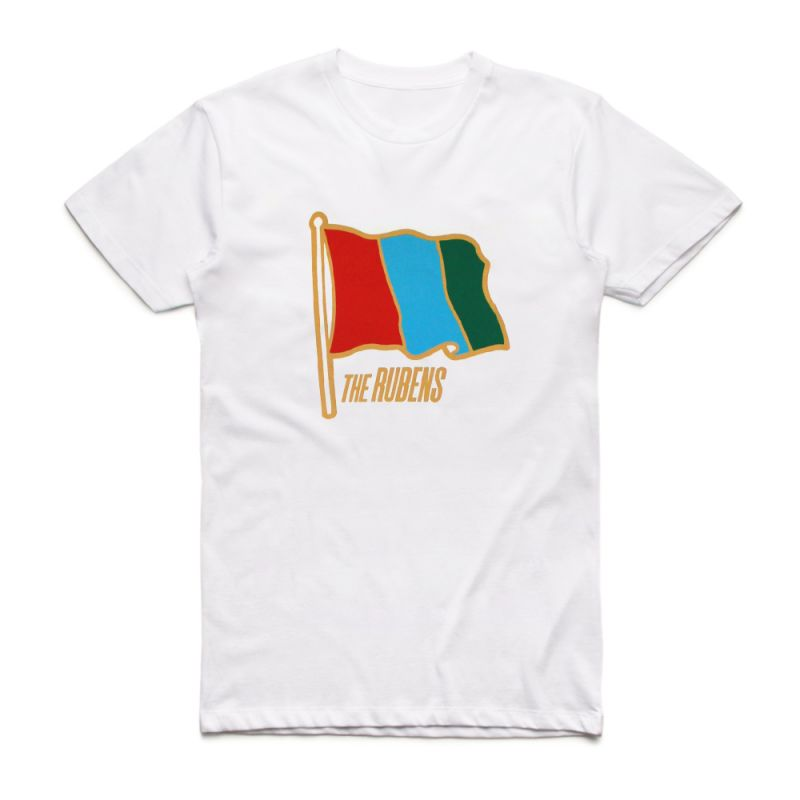 Flag White Tour Tshirt