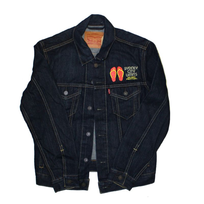 Thongs Denim Jacket 2018 Event