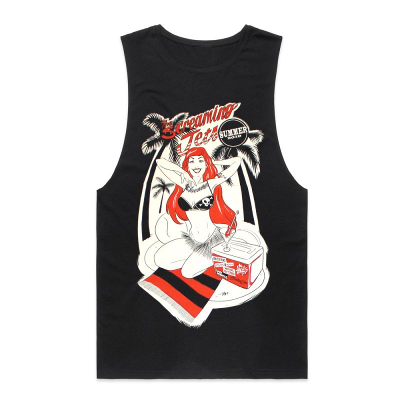 Pinup/Red Hot Summer 2019 Black Tank