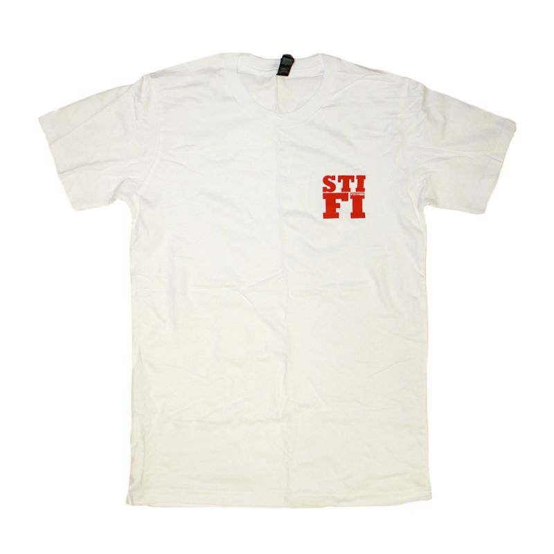 White Stifi Pocket Tee