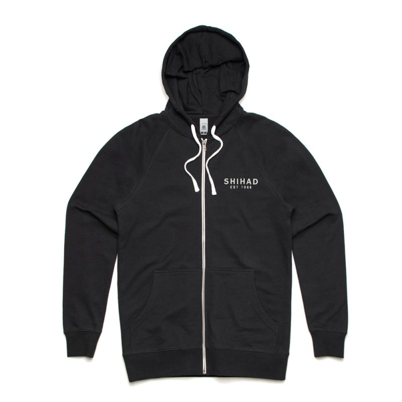 Pocket Logo Zip Hoody
