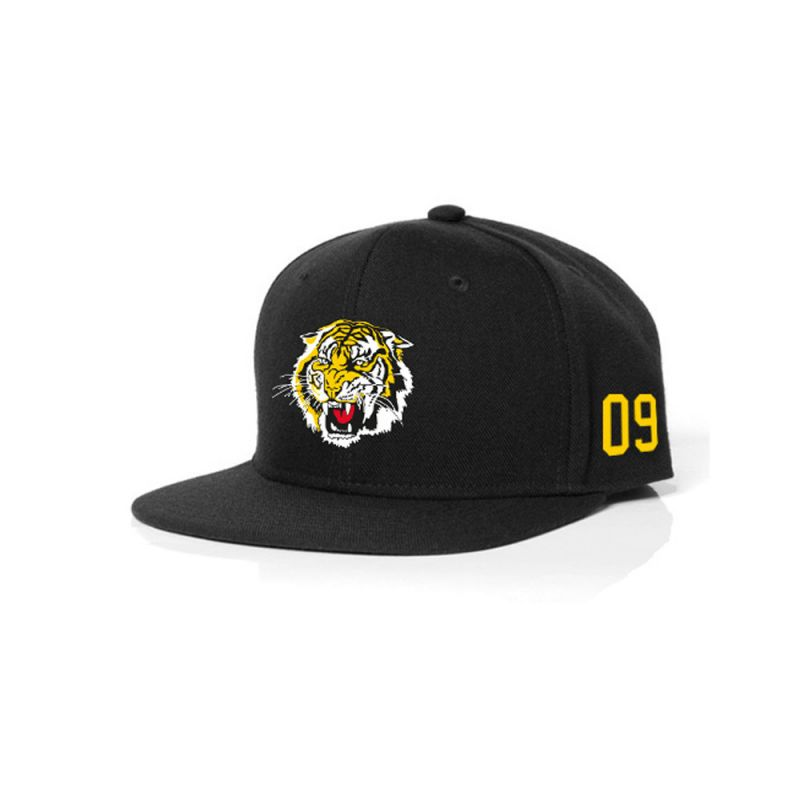 Snap Back Adult Black (58cm)