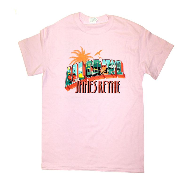 All Crawl Pink Girls Tshirt