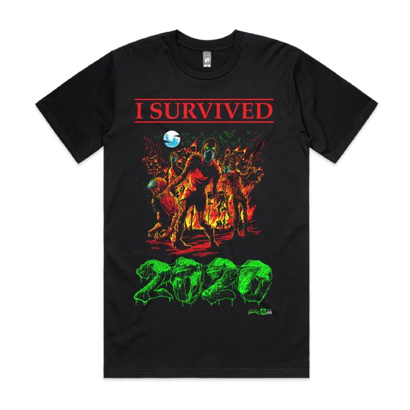 THUNDAS x HEESCO - I SURVIVED 2020 TEE