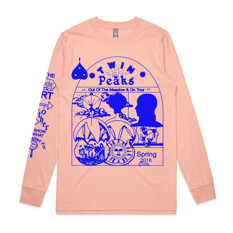 Pink Long Sleeve Tour Tshirt