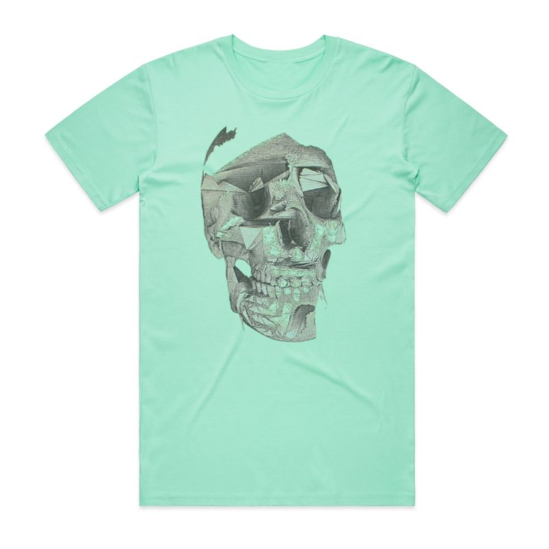 ACDC Skull Rock Hand Tee I'm On The Highway To Hell Women's V Neck T Shirt