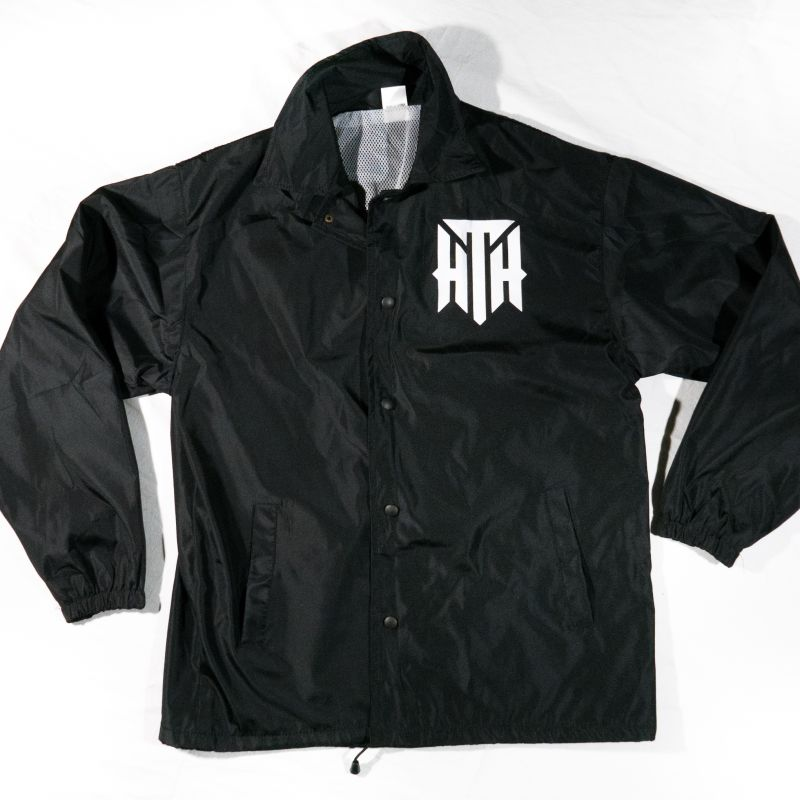 Seal Collection Black Windbreaker