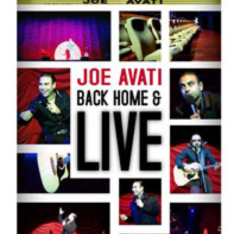 Back Home and Live DVD