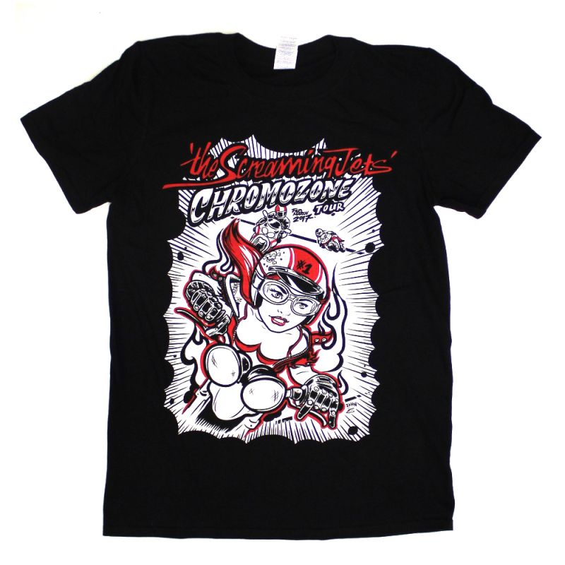 Chrome-O-Zone Tour Black Tshirt