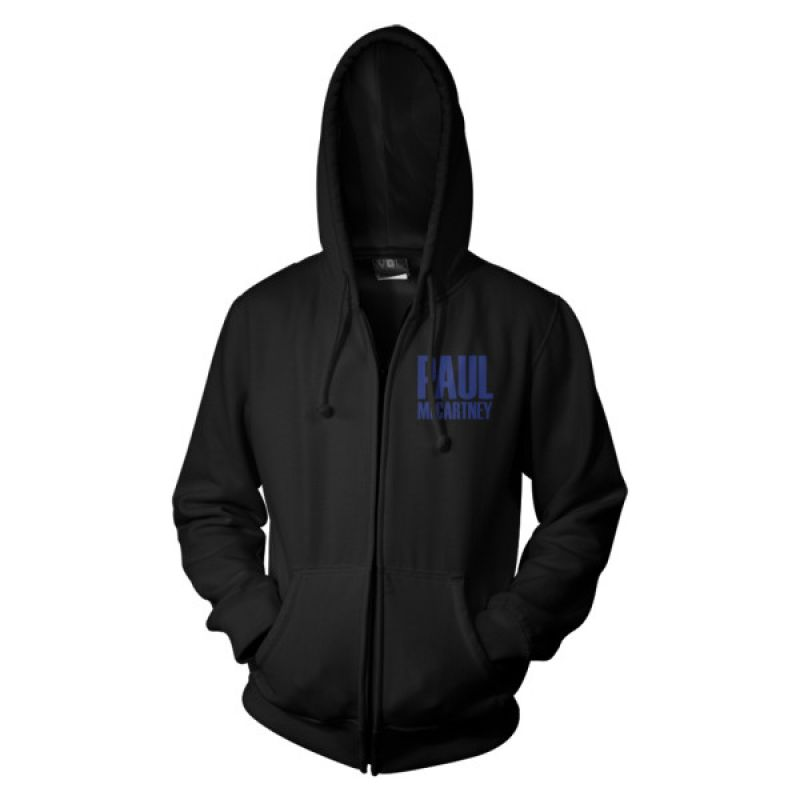Sideways Black Zip Hood One On One World Tour 2017