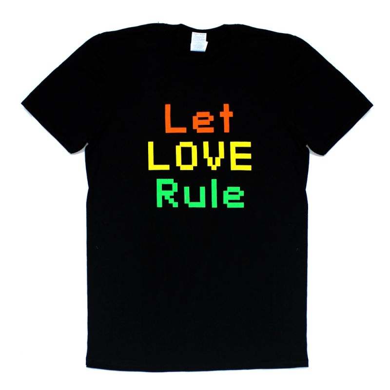 Let Love Rule Black Tshirt