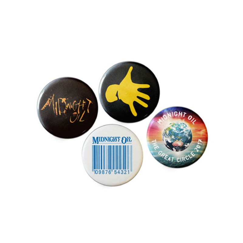 Badge Set (4) Great Circle Tour 2017