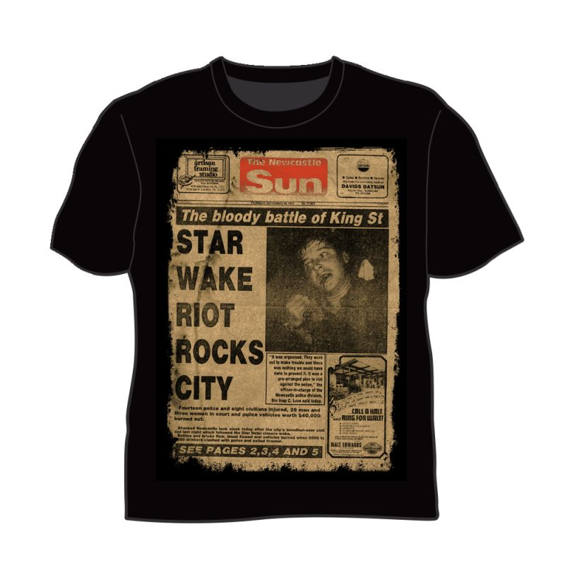 Newcastle Star Hotel Black Tshirt