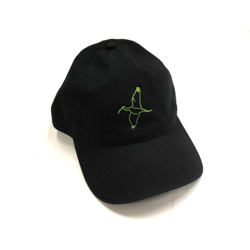 Black/Lime Green Ibis Cap