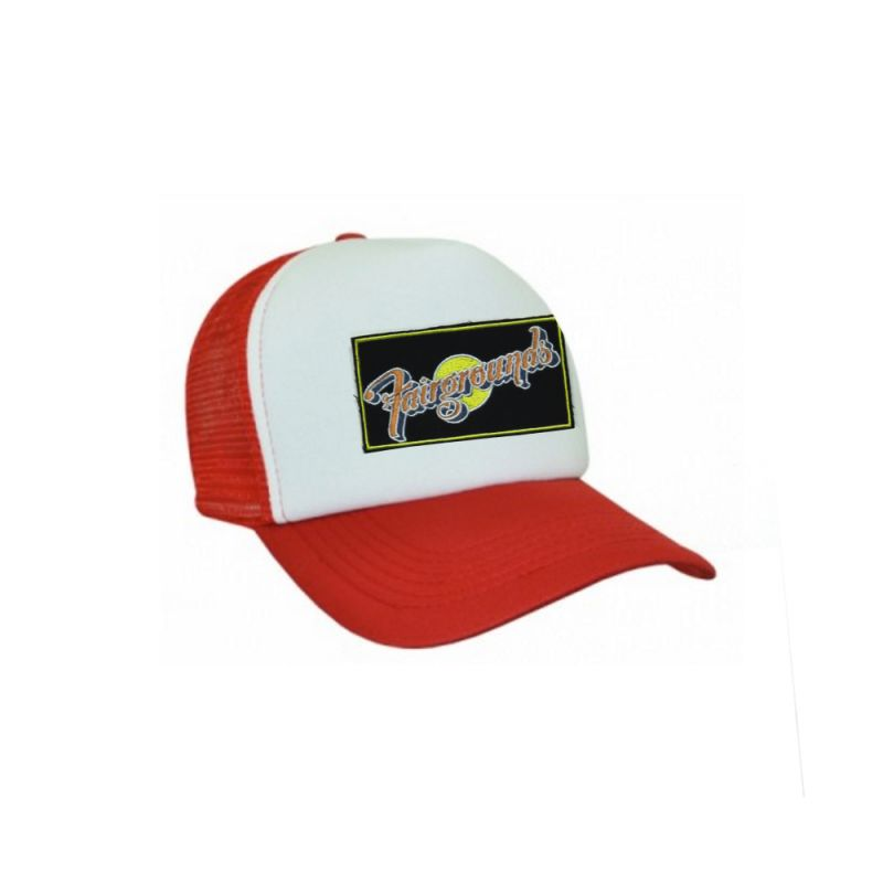 Kids Red/White Trucker Hat