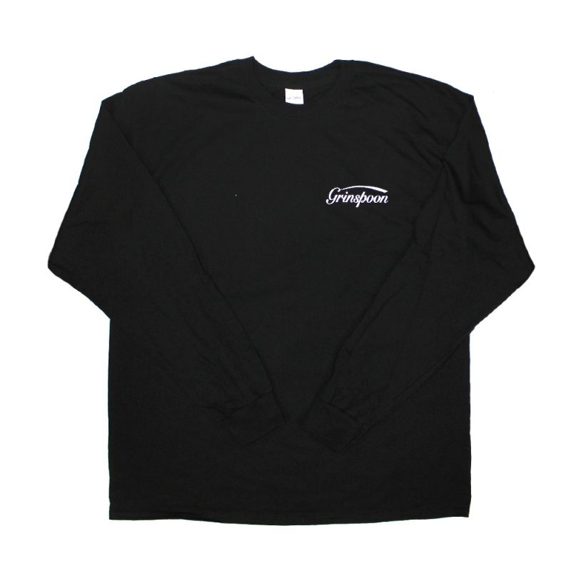 Pocket Logo Black Long sleeve Tshirt