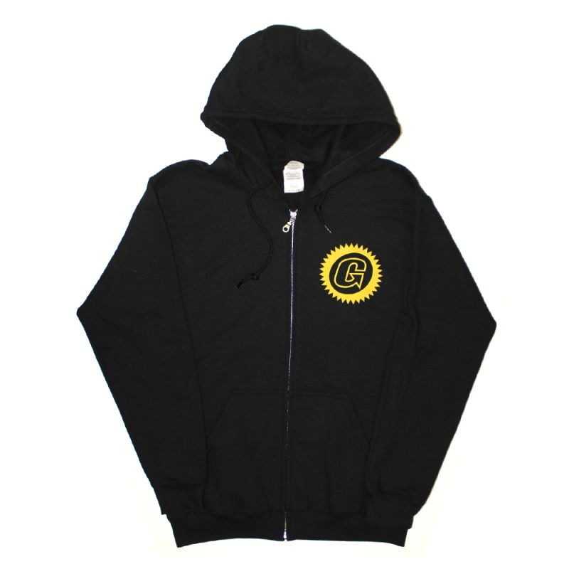 Sunbeam Black Zip Hoody