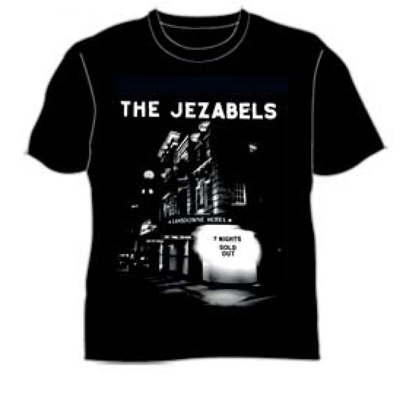 Lansdowne Hotel Sold out 7 nights Black Tshirt
