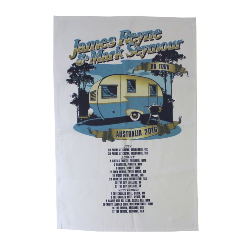 Caravan Tea Towel