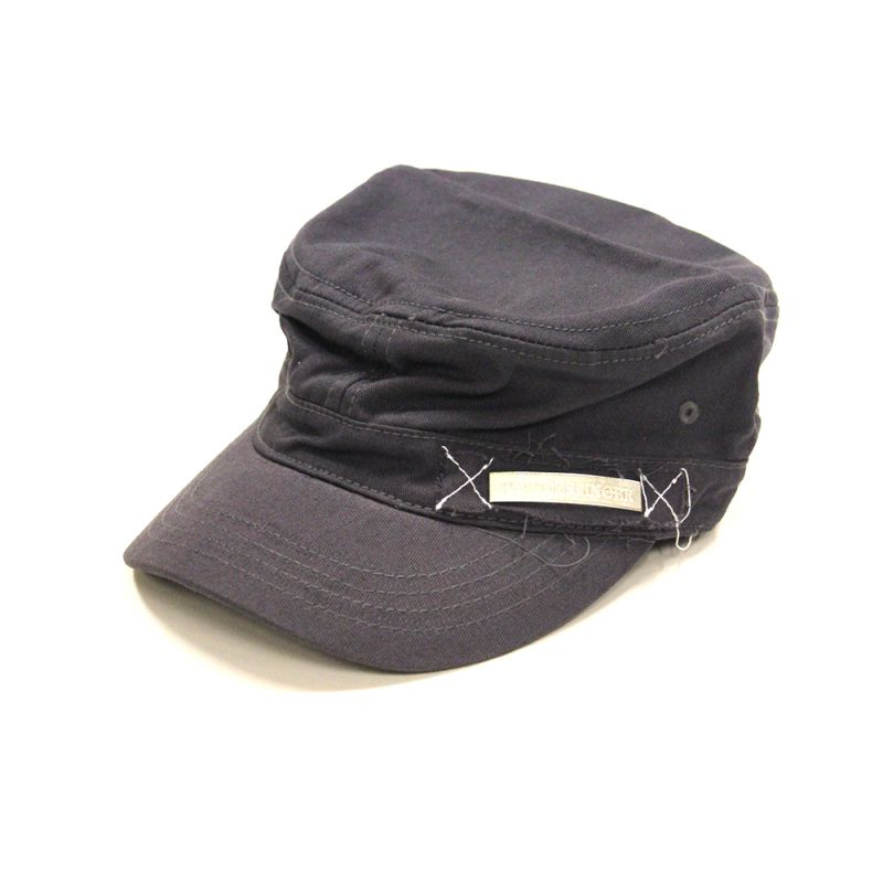 Military Cap Charcoal