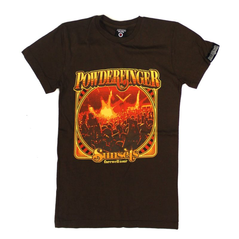 Sunset's Farewell Brown 2010 Tour Tshirt