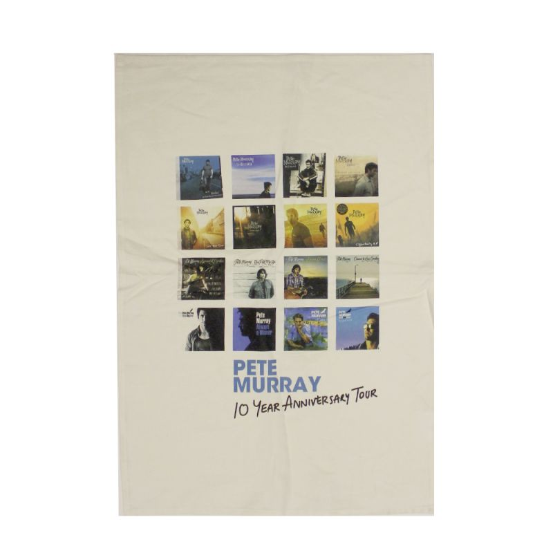 Tenth Anniversary Tea Towel
