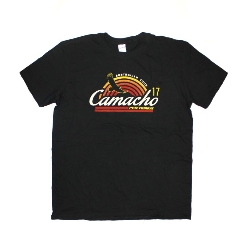 Camacho Retro Black Tour Tshirt