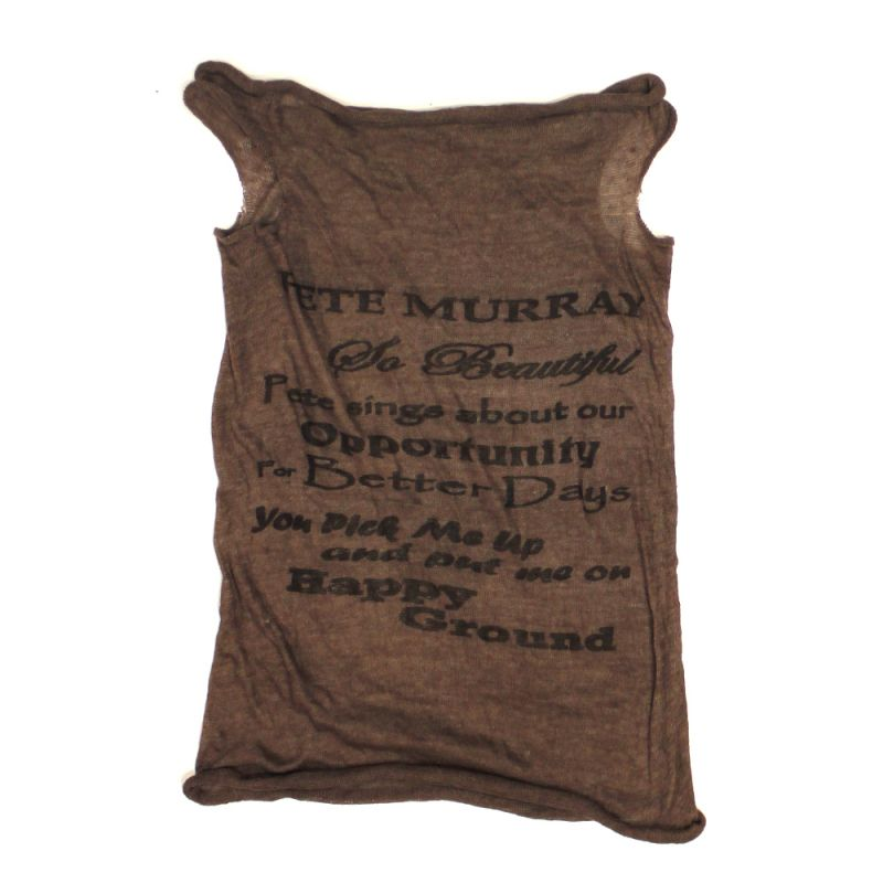 Mesh Tank Ladies Brown (OSFM)