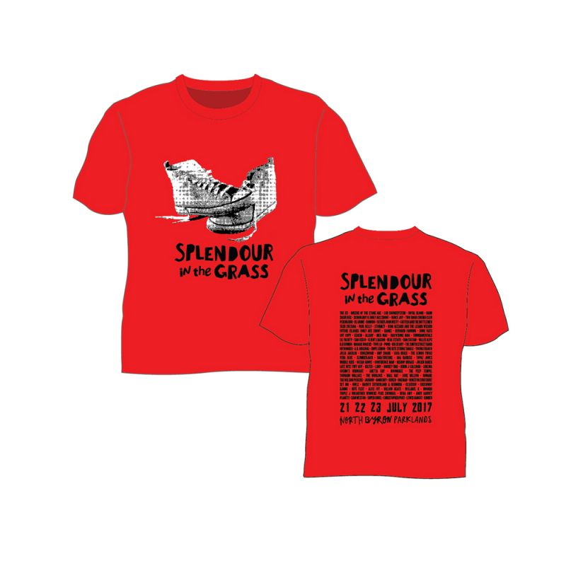 Sneakers Red Kids Tee