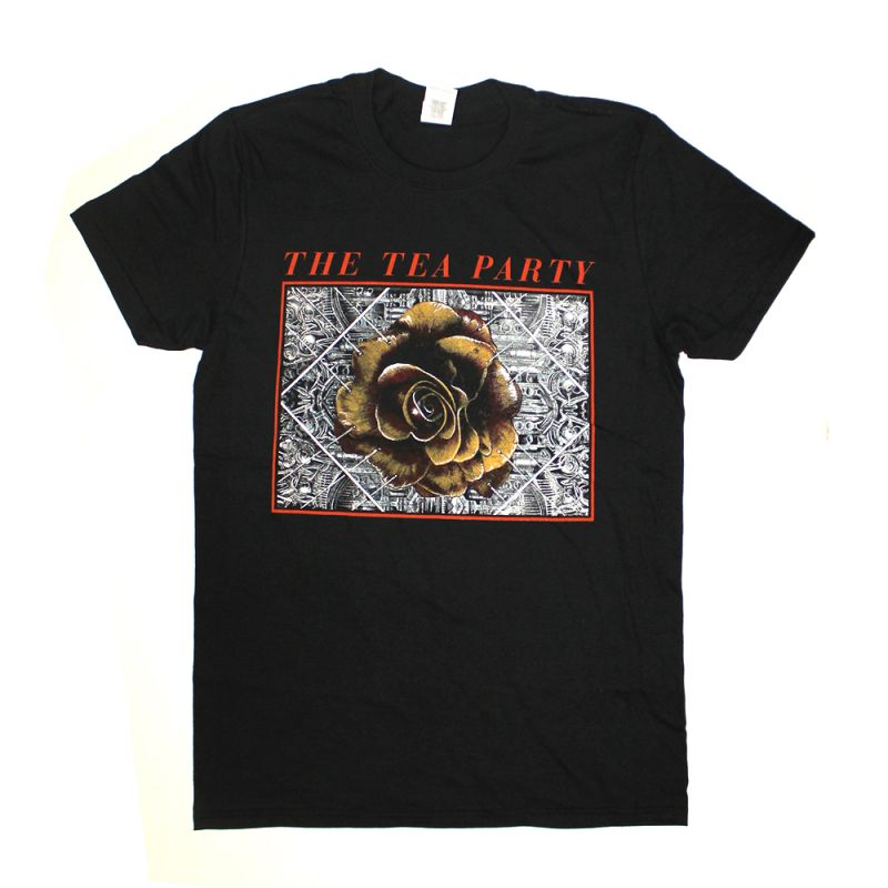 Rose Black Tshirt