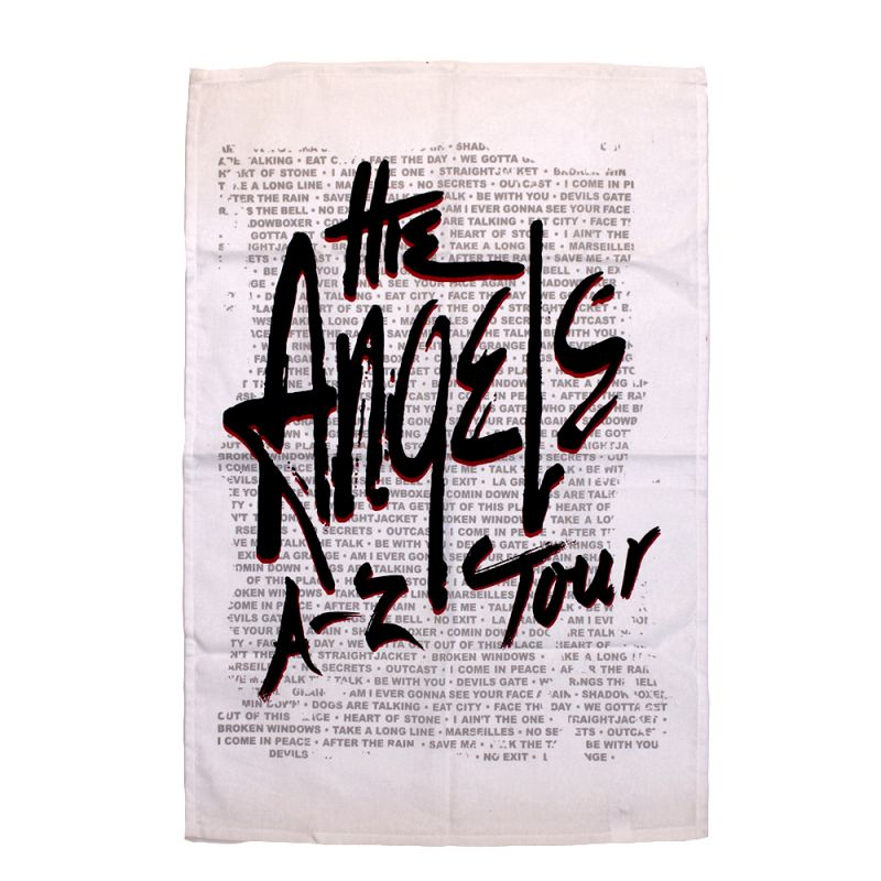 A-Z Tour Tea Towel