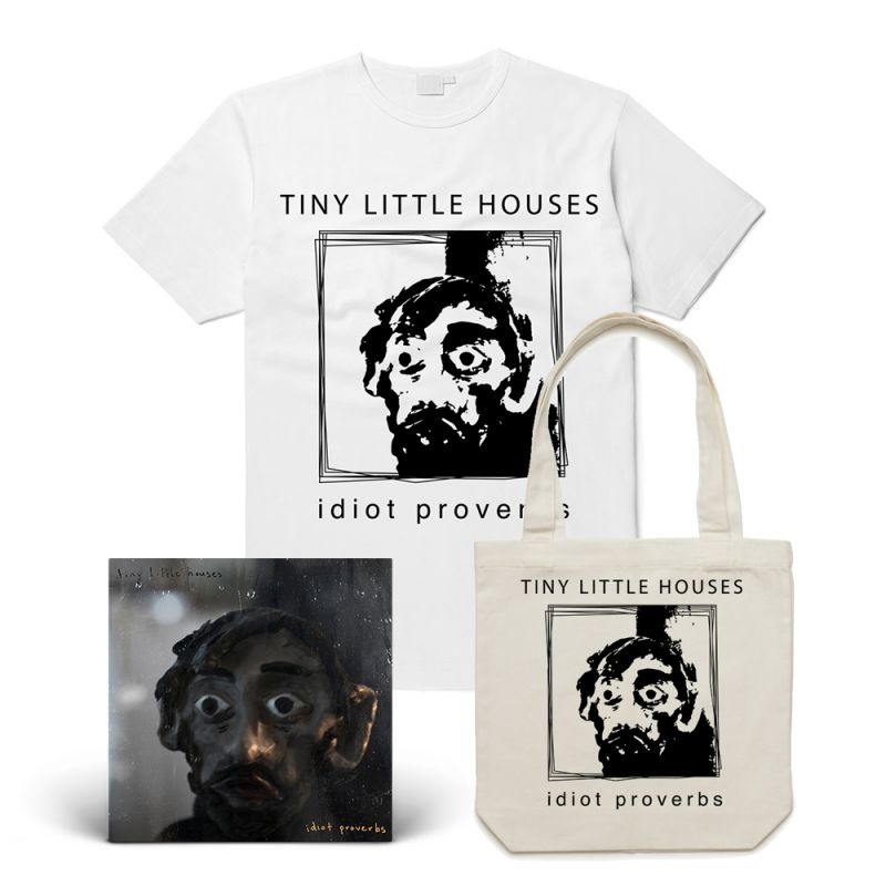 Idiot Proverbs LP/Tee / Tote Bundle Pack (Includes Download Card)