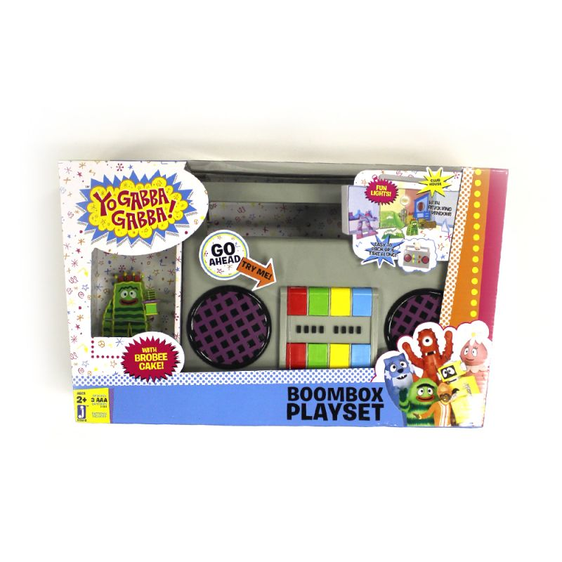 Boombox Playset with exclusive Brobee Cake Figure!